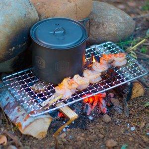 bushcraft grill 2